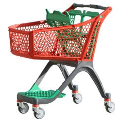 Plastic Shopping Trolley PC-100 liter