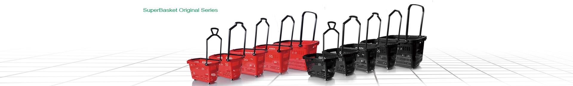 Superbasket plastic shopping