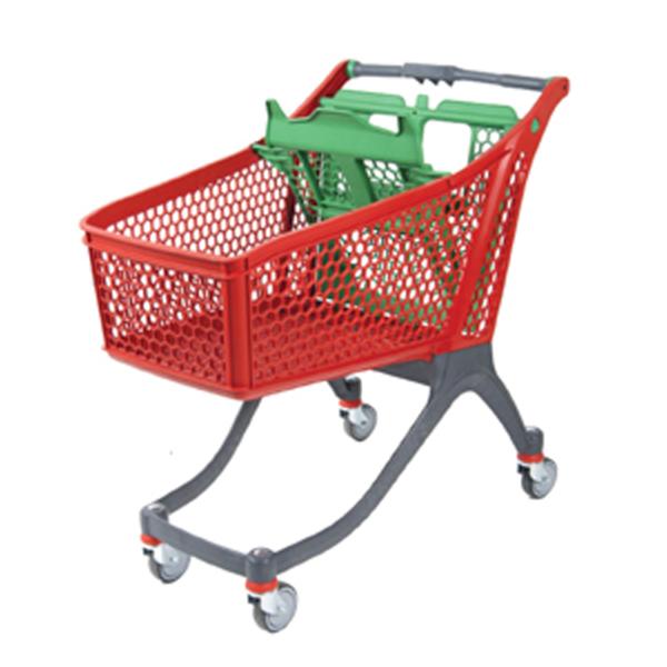 Plastic Shopping Trolley PC-130 liter