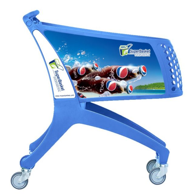 SuperTrolley AD 130 Blue